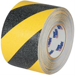 "1"" x 60' Black/Yellow Striped Heavy-Duty Tape Logic® Anti-Slip Tape"