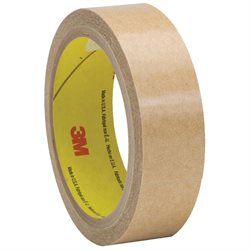 """1"""" x 60 yds. (6 Pack) 3M 927 Adhesive Transfer Tape Hand Rolls"""