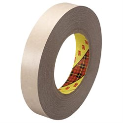 """1"""" x 60 yds. (6 Pack) 3M 9471 Adhesive Transfer Tape Hand Rolls"""