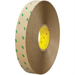 """1"""" x 60 yds. (6 Pack) 3M 9505 Adhesive Transfer Tape Hand Rolls"""