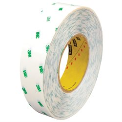 """1"""" x 60 yds. (6 Pack) 3M 966 Adhesive Transfer Tape Hand Rolls"""