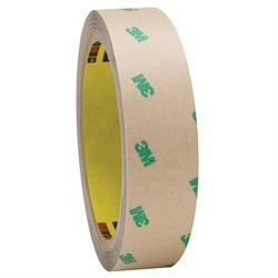 """1"""" x 60 yds. (2 Pack) 3M F9465PC Adhesive Transfer Tape Hand Rolls"""