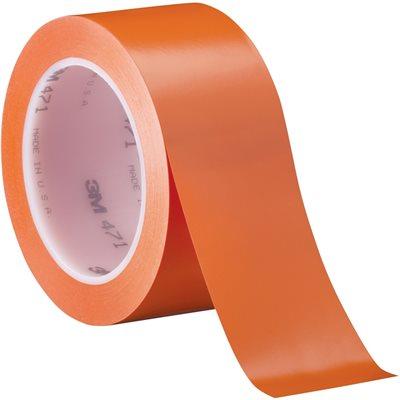 "2"" x 36 yds. Orange (3 Pack) 3M - 471 Vinyl Tape"