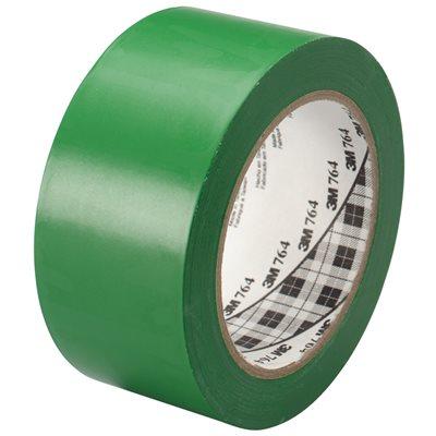 """2"""" x 36 yds. Green (6 Pack) 3M 764 Vinyl Tape"""