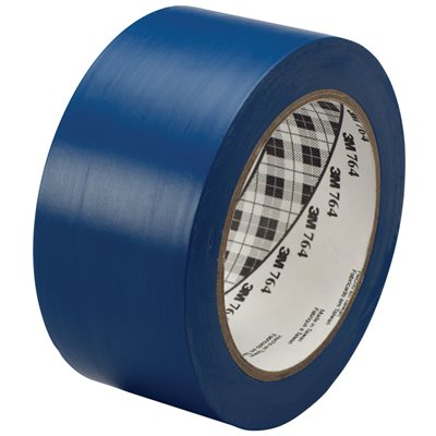 "2"" x 36 yds. Blue 3M 764 Vinyl Tape"