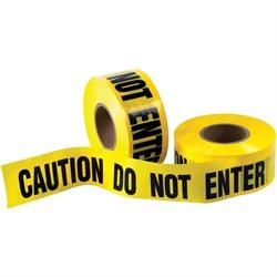 "3"" x 1000' - Barricade Tape ""Caution Do Not Enter"""