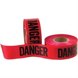 "3"" x 1000' - Barricade Tape ""Danger"""