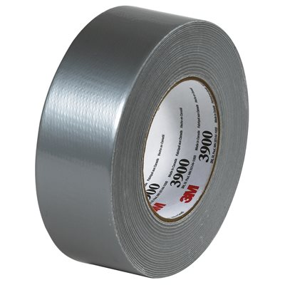 """2"""" x 60 yds. Silver 3M 3900 Duct Tape"""