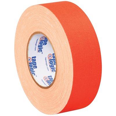 "2"" x 50 yds. Fluorescent Orange Tape Logic® 11 Mil Gaffers Tape"