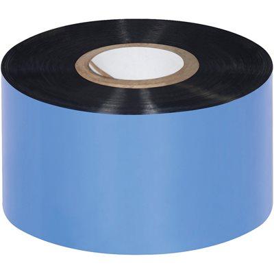 "4.33"" x 984' Black Zebra Thermal Transfer Ribbons - Wax"