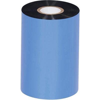 "4.02"" x 1345' Black Sato Thermal Transfer Ribbons - Wax"
