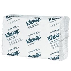 Kleenex® White C-Fold Towels