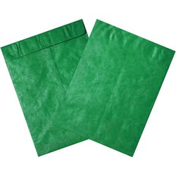 "12 x 15 1/2"" Green Tyvek® Envelopes"