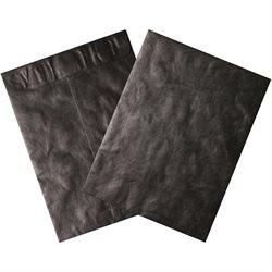 "9 x 12"" Black Tyvek® Envelopes"