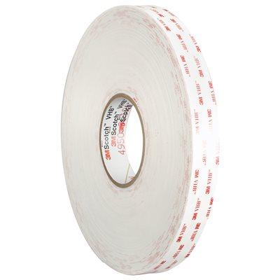 "1"" x 5 yds. White 3M 4930 VHB™ Tape"